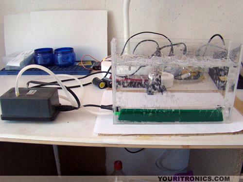 DIY Etching Tank With Aquarium Pump And Heater