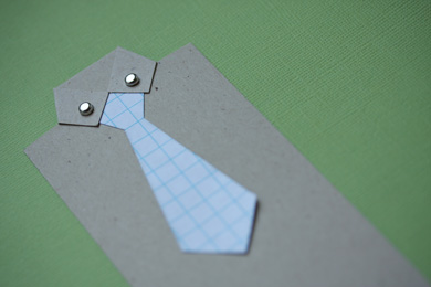 HOW TO: Make Shirt & Tie Bookmarks