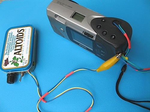 Arduino sound sensitive photo trigger
