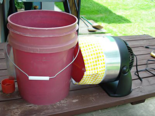 Homemade air conditioner version 4