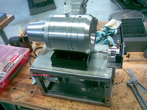 Homemade jet engine