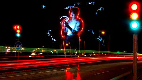 HOW TO – stop motion light painting