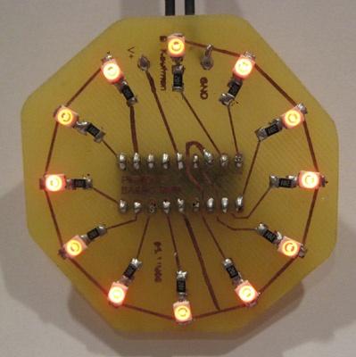 Circle LED animation