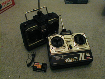 Modify a 3 channel transmitter into a 7 channel one