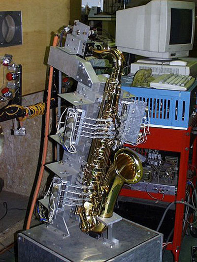 Robotic saxophone player will hit the notes