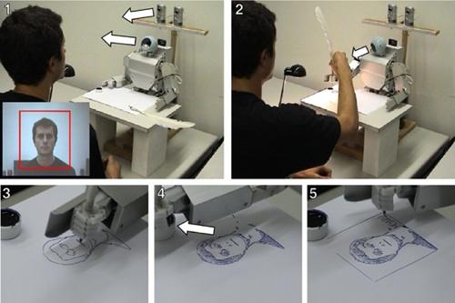 Robot Drawing… Wait, drawing robot!