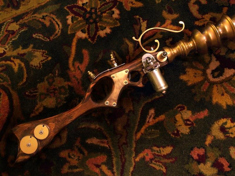 Steampunk sonic rifle prop