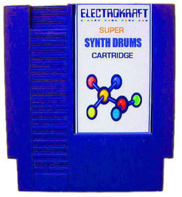 NES synth drum cartridge & interface