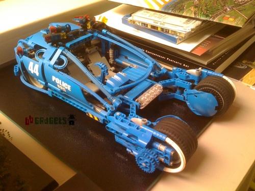 """Lego Blade Runner """"Spinner"""" Car"""