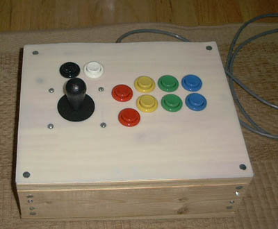 Wooden Neo Geo controller will definitely give you splinters