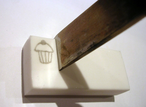 How to: Carve rubber stamps