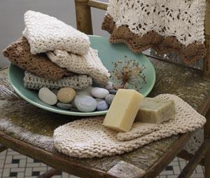 Dishcloth & Washcloth Ideas from Lion Brand's YarnCraft