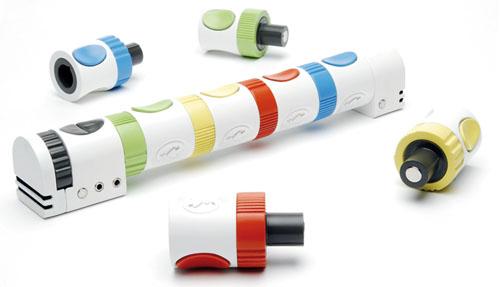 Modular sound toys