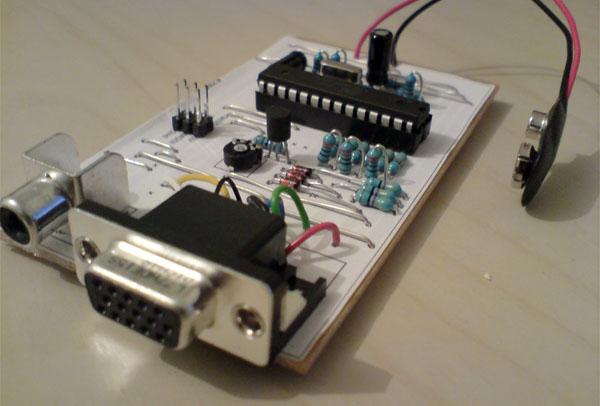 AVR demo platform rocks the color VGA +audio