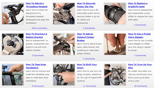 DIY: Bicycle repair videos