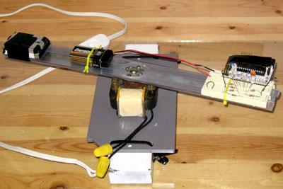 Arduino POV device will not break the bank