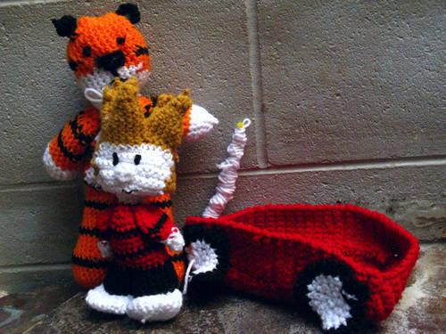 Calvin & Hobbes Amigurumi
