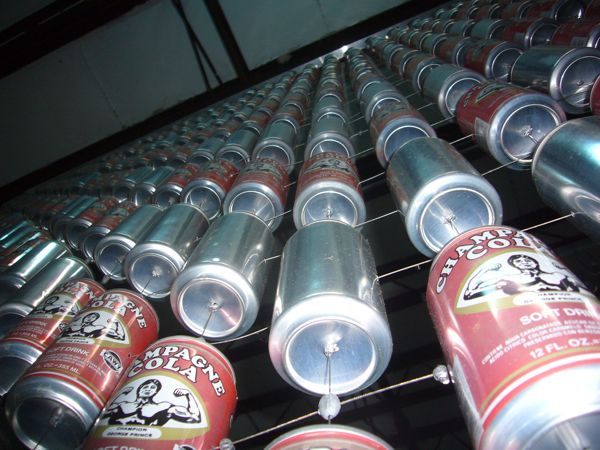 Cola curtain will keep you up at night