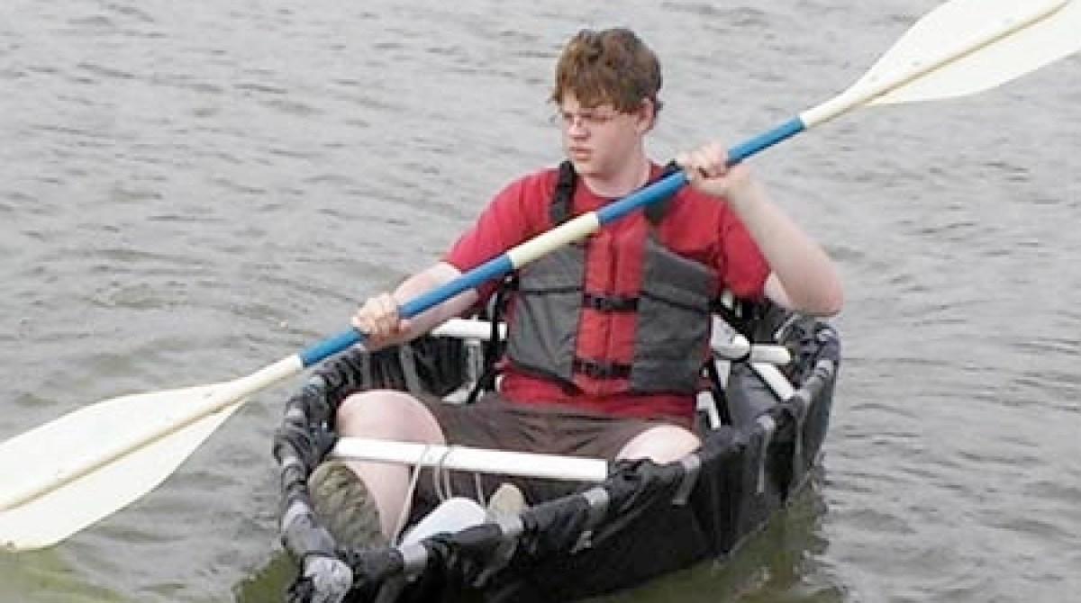 PVC Pipe & duct tape canoe | Make: