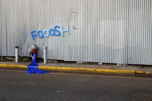 Onomatopoeia street art