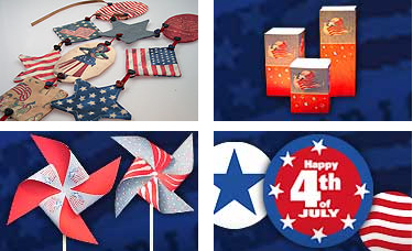 HP's 4th of July Downloadable Craft Projects