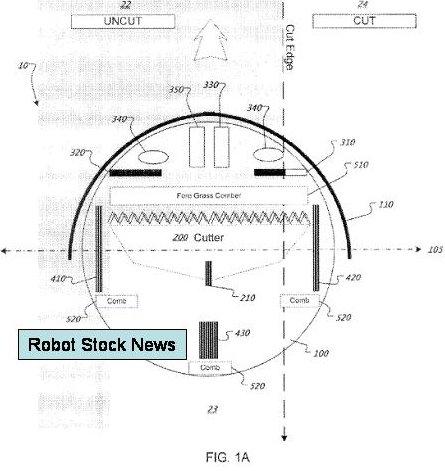iRobot's robot mower patent
