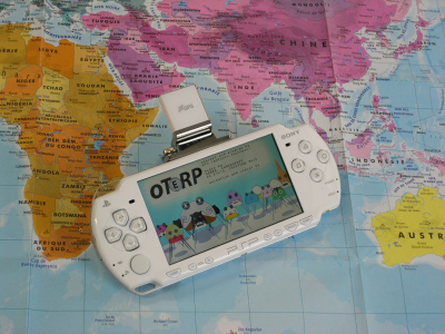 PSP hack mixes live sound editing and collection with GPS navigation