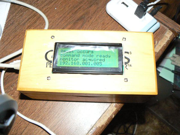 Arduino Project: XPort and an LCD
