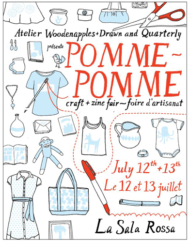 This Weekend: Montreal's Pomme-Pomme Craft & Zine Fair