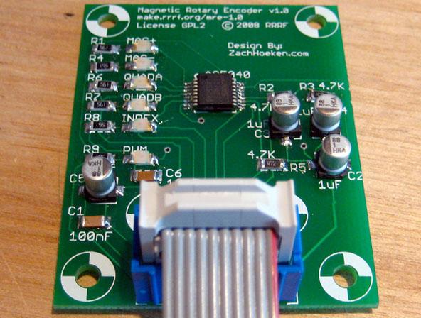 RepRap magnetic rotary encoder