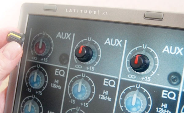 Sensesurface adds real knobs to your monitor