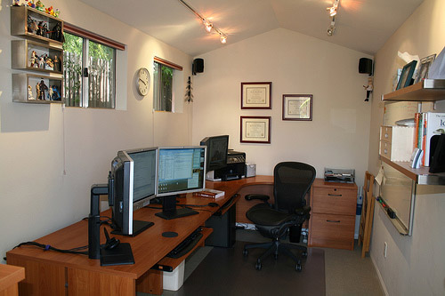 Convert your shed into an office