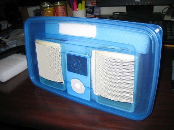 Build your own iPod speaker set