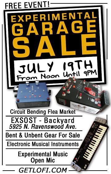 Circuit bending flea market – Chicago 7/19/08