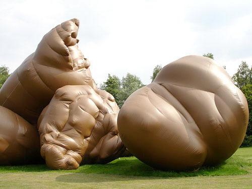 Giant turd runs amok!
