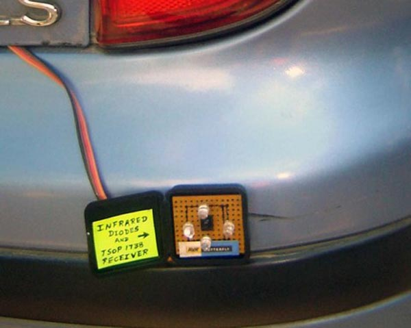 Build a blind spot detection system for your car