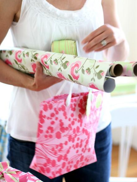 Amy Butler's Eco-Friendly Gift Wrap