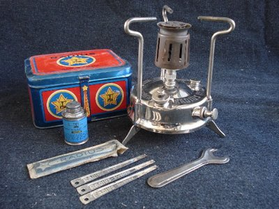Classic camp stove and lamp galleries