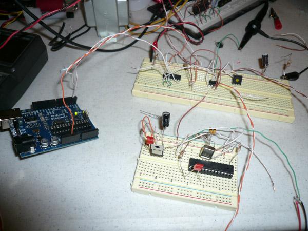 Laser Modem with an Arduino Micro-controller