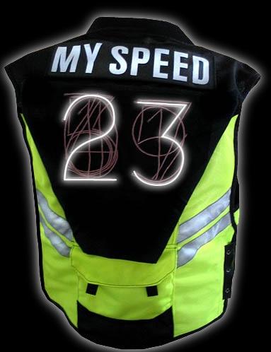 """My Speed"" bike vest"