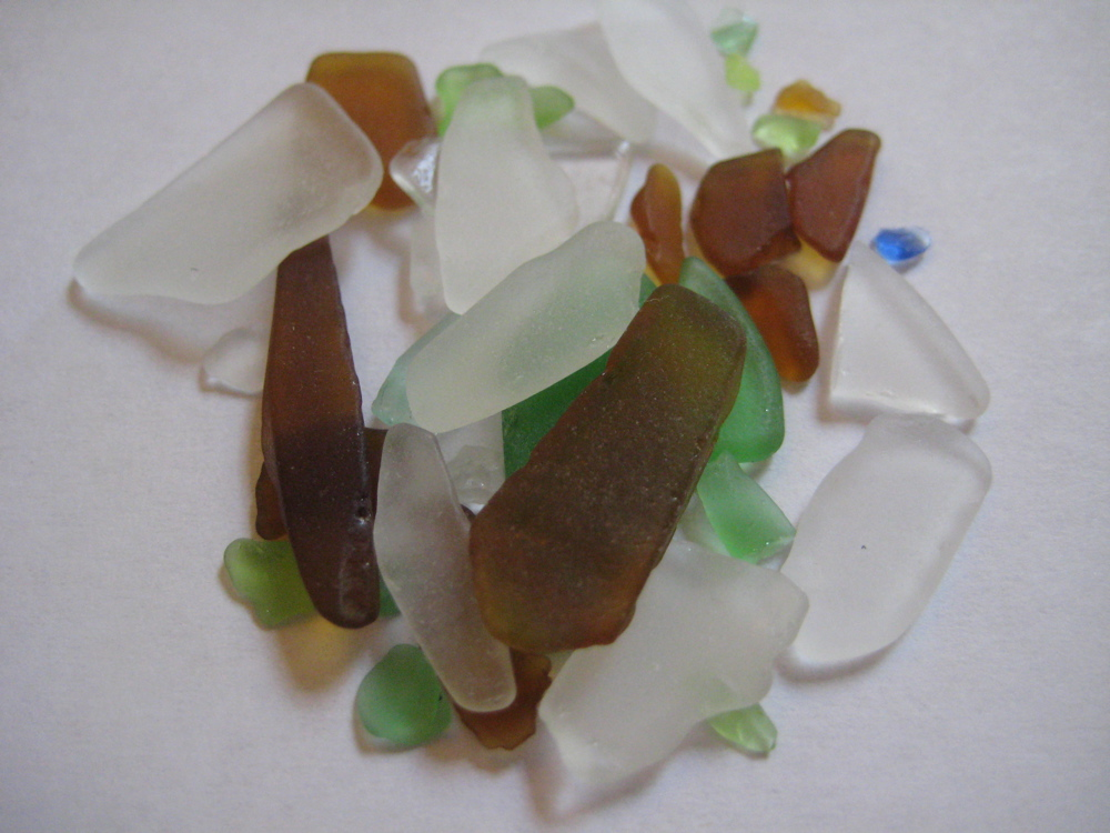 More sea glass hunting