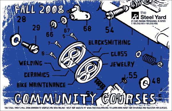 Fall community courses at The Steel Yard in Providence