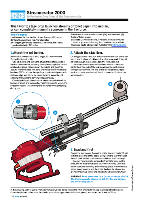 Weekend Project: The Streamerator (PDF)