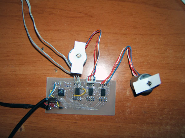 DIY: 3-in-1 Stepper Motor Controller