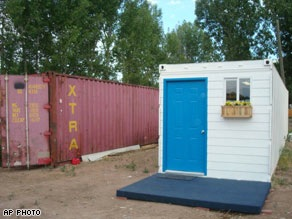 Shipping containers could be 'dream' homes for thousands