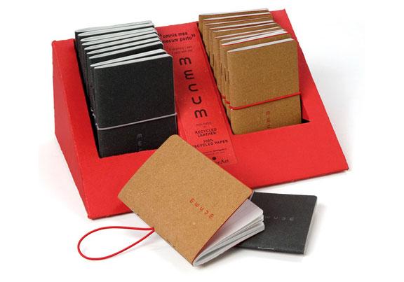 Mecum recycled notebooks