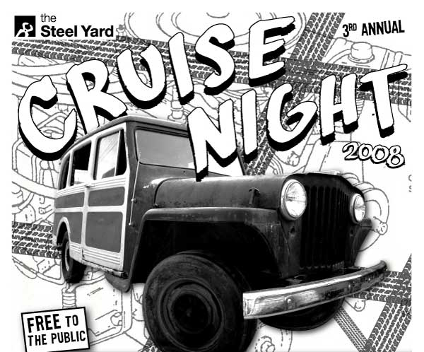 Cruise Night@The Steel Yard: veggie oil conversions and more