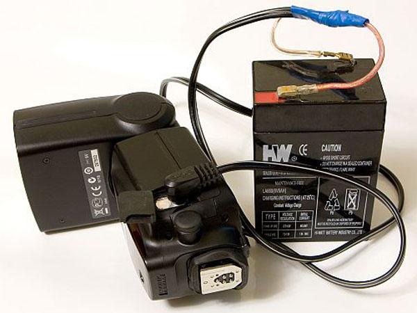 DIY: External SLA Battery Flash Mod