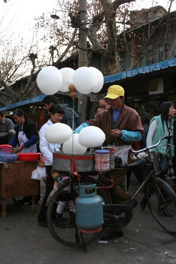 Bike powered cotton candy