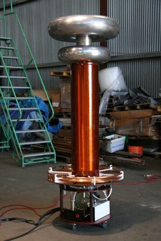 Nice Tesla coil